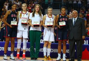 All-tournament pick Collier helps U.S. beat Russia for gold