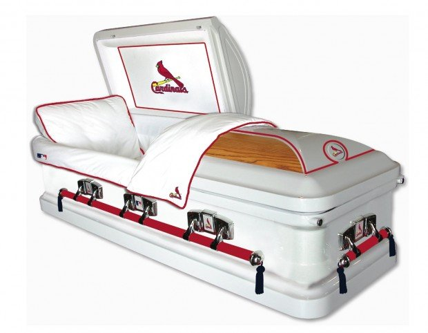 Caskets Are Final Show Of Baseball Loyalty St Louis