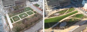 Arch grounds renovation opens first new park
