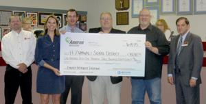Fort Zumwalt awarded incentive check for green efforts