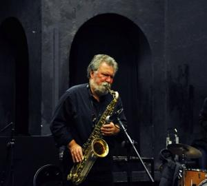 Jazz musician Evan Parker says the sax is the ideal instrument