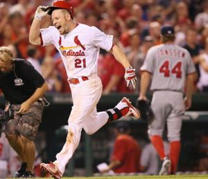 Cardinals win with show of power