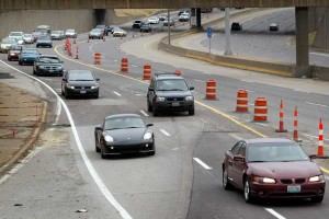 Labor Day travelers should be mindful of construction cones