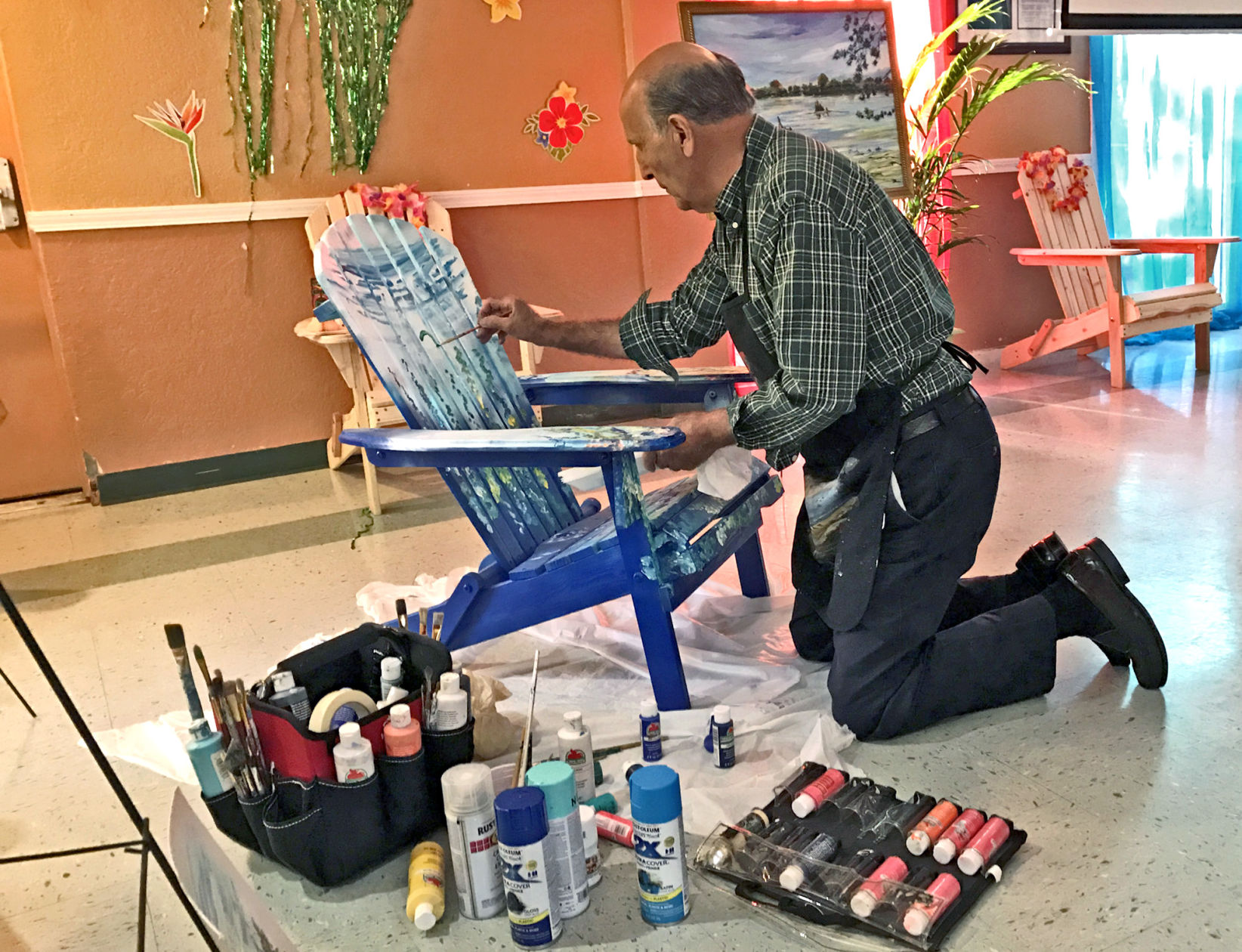 CARES Boosters Hold Beach Chair Ity Kickoff News