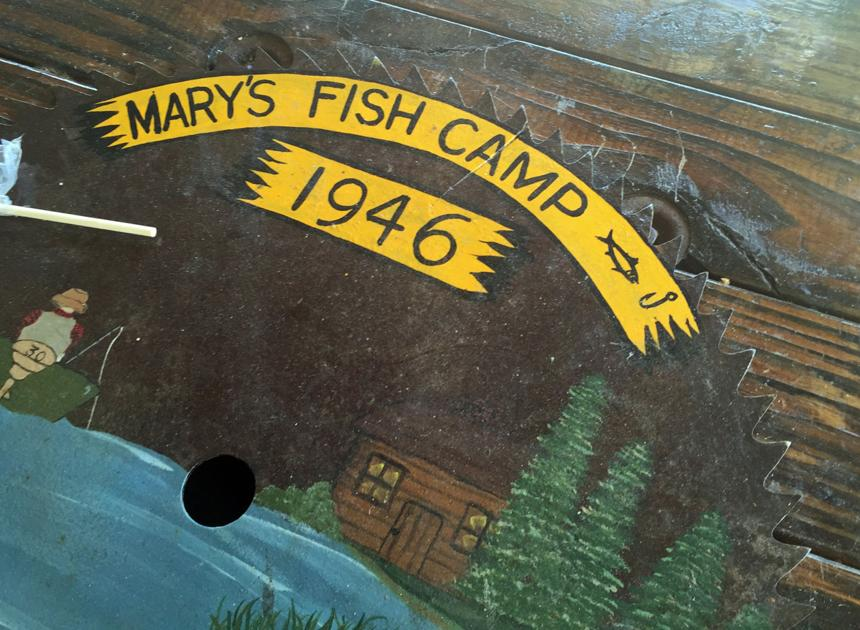 Mary s fish camp a hernando winter tradition sports for Marys fish camp fl