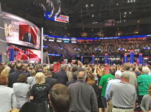 County delegates at GOP convention