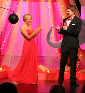 BHS prom shines as a 'circus' of style
