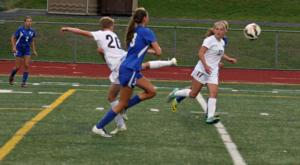 Girls soccer team's strong finish lands 2AA's No. 1 seed