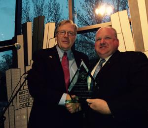 Furlong honored with Distinguished Service Award