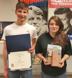 EPHS graduates honored with social studies awards