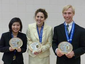 Three state champs in speech