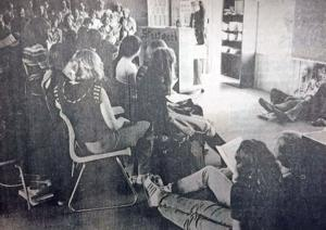 Turn back the page: In 1977, learning could occur anyplace at middle school