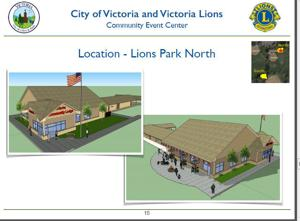 Victoria Lions propose building a community lodge/events center