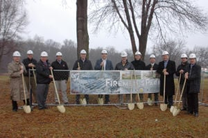City breaks ground on Firemen's Park redevelopment