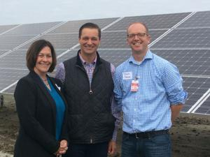 6-acre solar array unveiled at Blue Lake Wastewater Treatment plant