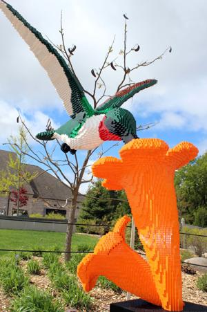 Arboretum opens new LEGO exhibit