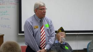 Veterans speak at Prior Lake High School