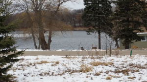 Water world: Not much ice on area lakes