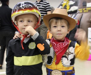 Trick-or-treat with Savage firefighters on Halloween