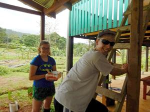 High school students study science in Costa Rica