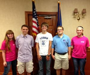 Jordan youth explore politics at Boys and Girls State