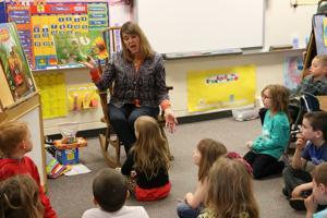 Kindergarten teacher retires from rewarding career at Jordan Elementary
