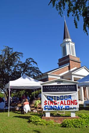 Congregational Church hosts sing-a-long