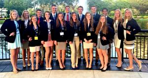 DECA competes in international career conference