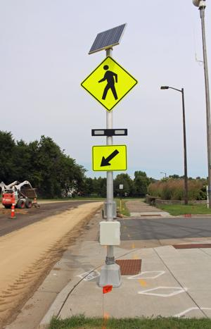 Signalized pedestrian crossings coming at Lynn, Vernon avenues