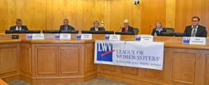 Legislative candidates discuss light rail, gun sales and more at LWV forum