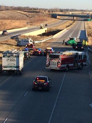 Fatal crash closes eastbound Highway 212