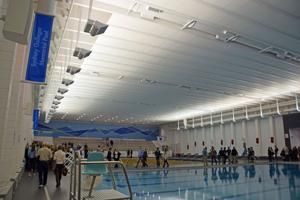 Sydney Galleger Memorial Pool dedicated
