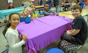 Eden Prairie children make blankets for local hospital