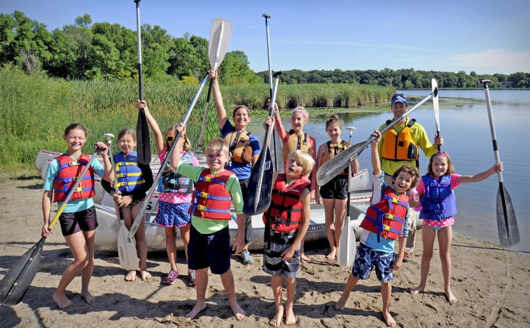 Register for three rivers park district summer camps for Fishing camps for kids