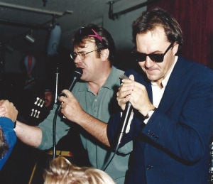 Brush with Blues: The night Dan Aykroyd blew into town