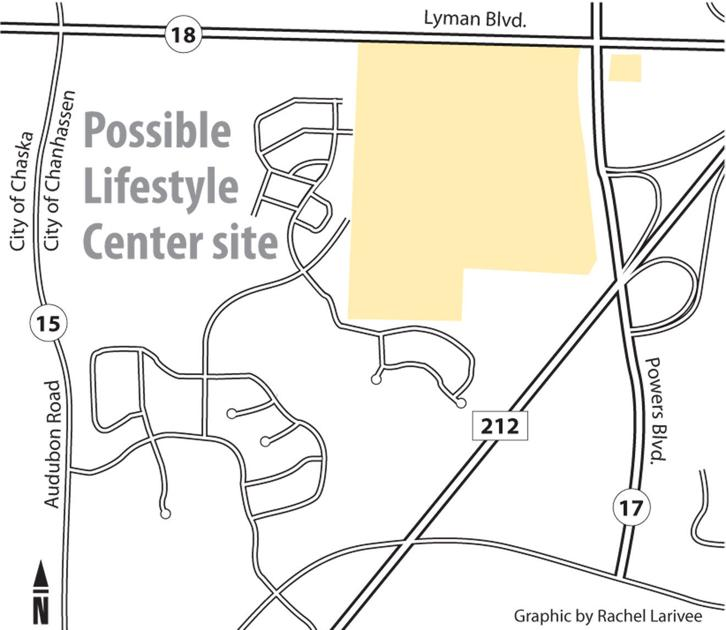 Lifestyle center plans expected this fall