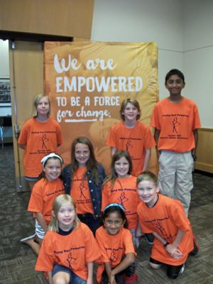 WE Day Minnesota honors Harriet Bishop Service Club