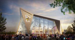 Vikings provide update on new stadium