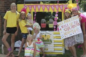 Taking life's lemons: Girl donates lemonade stand proceeds to Children's Hospital