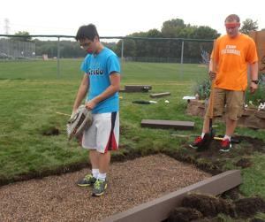 Scouts honor: Aspiring Eagle Scout creates honorary plaque for Warren Butler Park