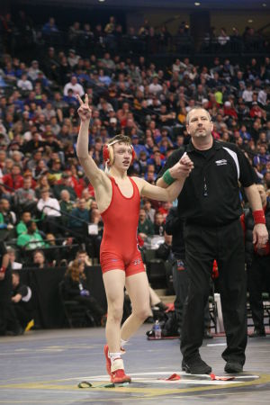 Shakopee's Jones repeats as state wrestling champion