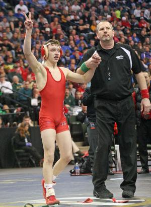 Jones repeats as state champion