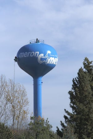 Chaska water tower now a Cheesehead