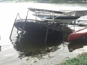 Rare 'waterspout' wrecks property on Prior Lake