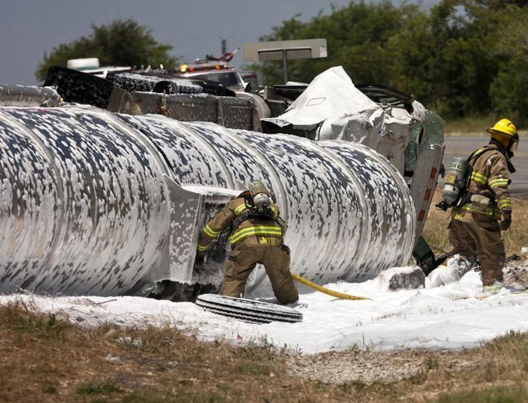 description of a fire accident