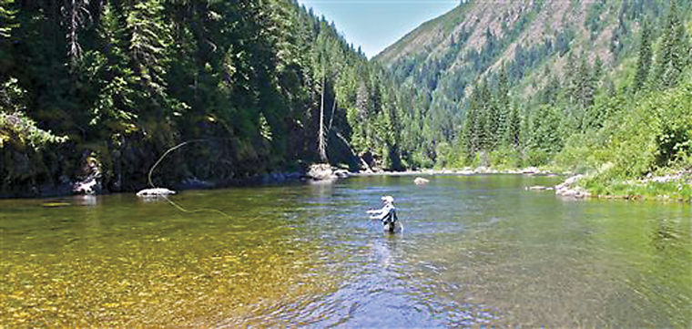 Kelly creek idaho s cathedral of the cutthroat for Best fishing in idaho