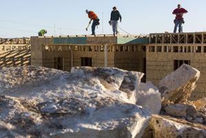 Belton apartment complex construction