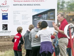 Groundbreaking held for North Belton Middle School