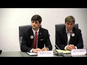 Video: 2014 N.C. State SG election debate