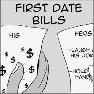 gender roles online dating